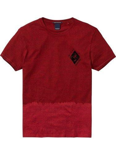 [スコッチ&ソーダ]Dip-Dye T-Shirt(コブラグリーンメランジ)
