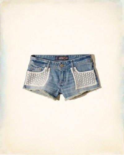 [ホリスター]Hollister Low Rise Denim Shorts(ミディアムウォッシュ)