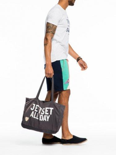 [スコッチ&ソーダ]Nylon Beach Bag(ミント)