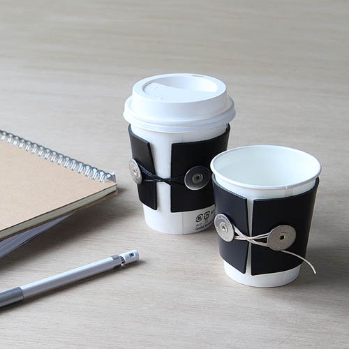 BP.「CUP-SLEEVE」Navy × Beigeのサブ画像2