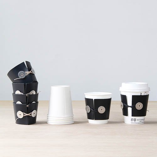 BP.「CUP-SLEEVE」Navy × Beigeのサブ画像3