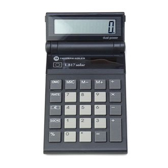 TRIUMPH「ADLER L817 solar」電卓