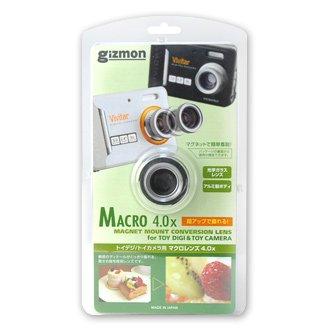 GIZMON「MACRO 4.0x」マクロレンズ