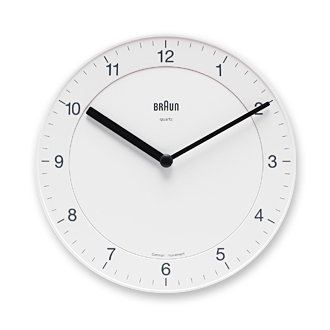 BRAUN「Wall Clock」BNC006 / White