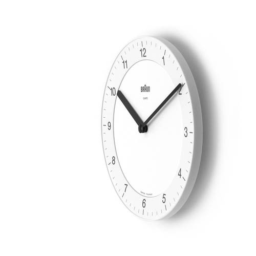 BRAUN「Wall Clock」BNC006 / Whiteのサブ画像3