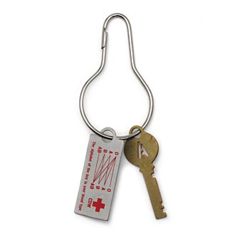CANDY DESIGN & WORKS「BLOOD TYPE KEY PLATE」A
