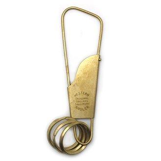 WESTERN ANGLER��HOLGER��KEY CLIP / Brass
