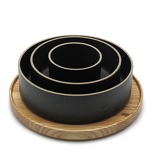 HASAMI PORCELAIN「Bowl」25.5cm / Blackのサブ画像1