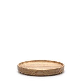 HASAMI PORCELAIN「Tray」14.5cm / Ash