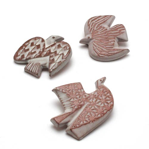 BIRDS' WORDS「BIRD TILE BROOCH」Oのサブ画像3