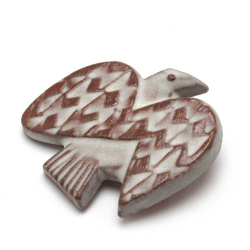 BIRDS' WORDS「BIRD TILE BROOCH」Rのサブ画像1