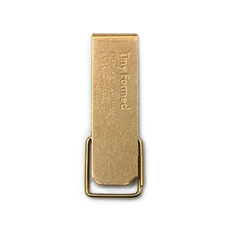 Tiny Formed「Tiny metal key clip」Brass