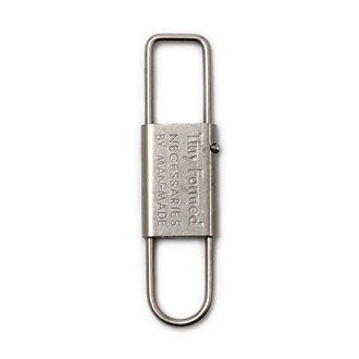 Tiny Formed「Tiny metal key shackle」Silver