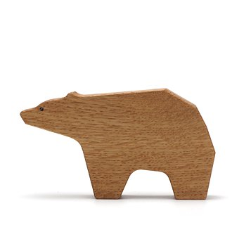 apartment��Wood Bear Rattle��