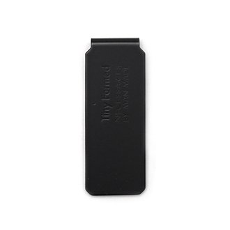 Tiny Formed「Tiny metal money clip」Black