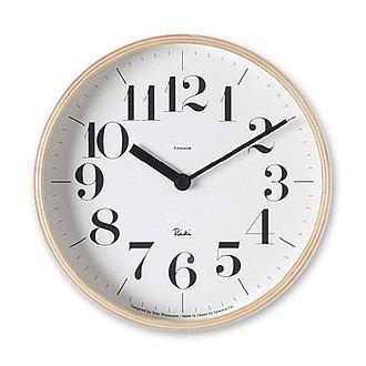Lemnos「Riki Clock」太字 Sサイズ