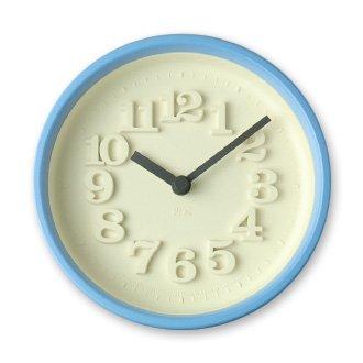 Lemnos「小さな時計」ライトブルー