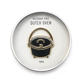 YOKA「OUTDOOR PINS」DUTCH OVEN
