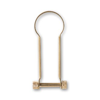 CANDY DESIGN & WORKS「ROMAN」SHACKLE KEY RING / Brass