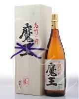 魔王(純正桐箱入り)1800ml [25度] 芋焼酎 【白玉醸造/鹿児島県】