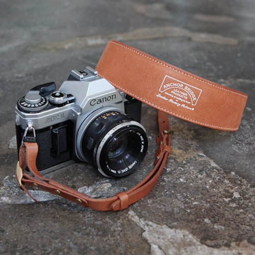 ANCHOR BRIDGE × ROBERU カメラストラップ【Vachetta】