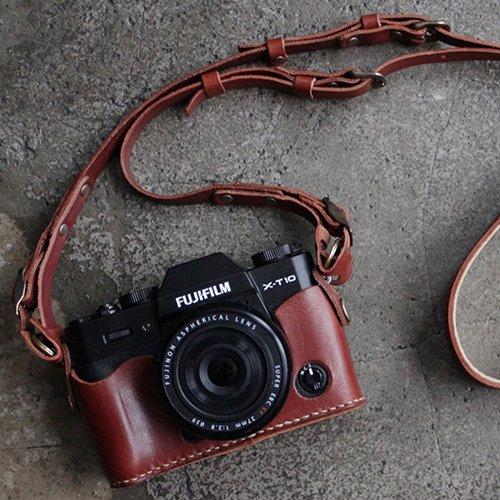 富士フイルムX-T30/X-T20/X-T10ホルダー&カメラストラップ(全4色)【受注生産品】