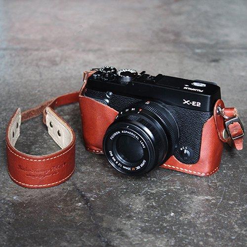 富士フイルムX-E2ホルダー&カメラストラップ(全4色)【受注生産品】