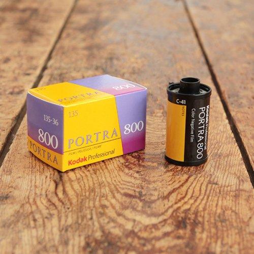 35mmフィルム「Kodak PORTRA 800」【36枚撮り】