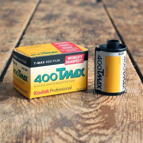 35mmモノクロフィルム「Kodak T-MAX400」