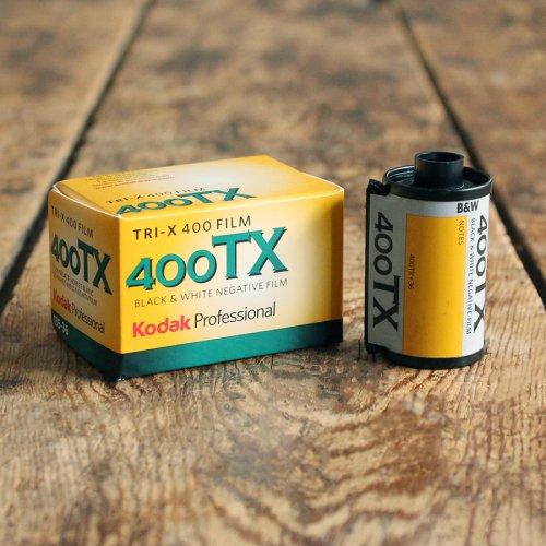 35mmモノクロフィルム「Kodak TRI-X400」【36枚撮り】