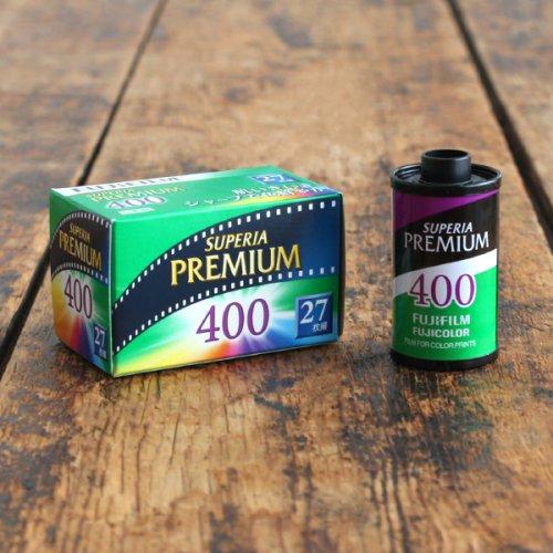 35mmフィルム「富士フイルム PREMIUM400」【27枚撮り】