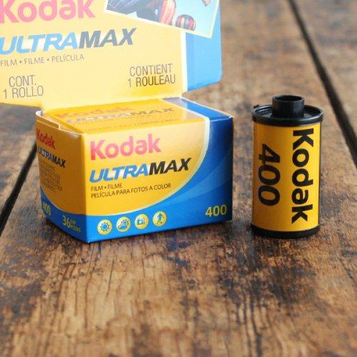 35mmフィルム「Kodak ULTRA MAX400」【36枚撮り】