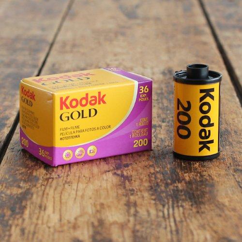 35mmフィルム「Kodak GOLD200」【36枚撮り】