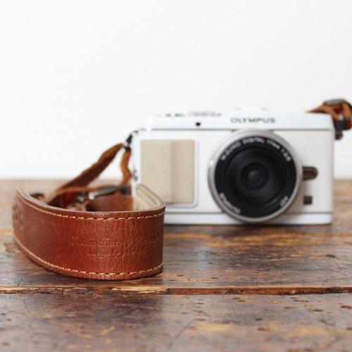オールレザーカメラストラップ(全2色)