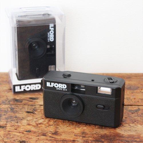 ILFORD SPRITE 35-II フィルムカメラ(ブラック)