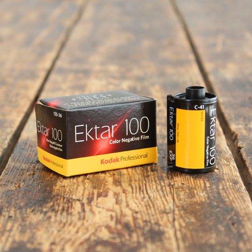 35mmフィルム「Kodak Professional Ektar 100」
