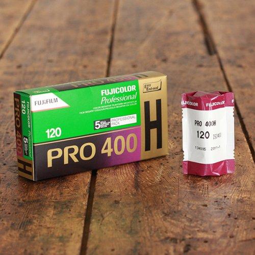 120(ブローニー)フィルム「富士フイルム PRO400H」