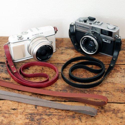 スリムカメラストラップ(全4色/2サイズ)