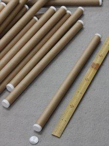 反物の巻芯・芯棒・紙管・紙筒 70本(1組)