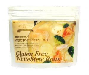 辻安全食品 植物性素材100%米粉のホワイトシチュールウ