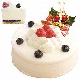 東明 クリスマスケーキレアチーズ4号(冷凍・送料込直送・12月3日ご注文締切り(セール対象外))