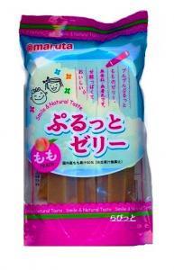 太田油脂 スマイル ぷるっとゼリー もも(4中旬~9月限定品)