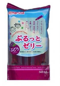 太田油脂 スマイル ぷるっとゼリー ぶどう(4中旬~9月限定品)