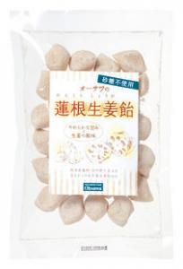 オーサワの蓮根生姜飴 10月〜6月限定品