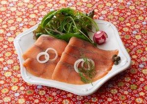 ムソー 紅鮭スモークサーモン(80g・冷凍) 11月30日までのご注文でお買い得!(セール対象外)