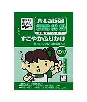 A-Label すこやかふりかけ のり2g×6袋