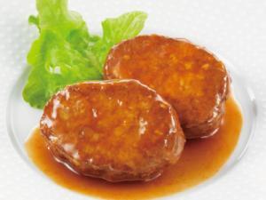 石井食品 いっしょがいいね 野菜入りハンバーグブラウンソース