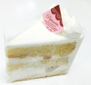 アレルギー対応ケーキ ホワイトデコレーション 卵・乳製品・小麦不使用 (冷凍品・セール対象外)