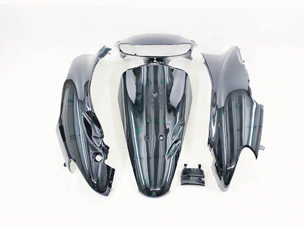 ホンダ DIO ライブディオ (AF34-1型) 外装カウル 外装カバー 深緑色  5点セット