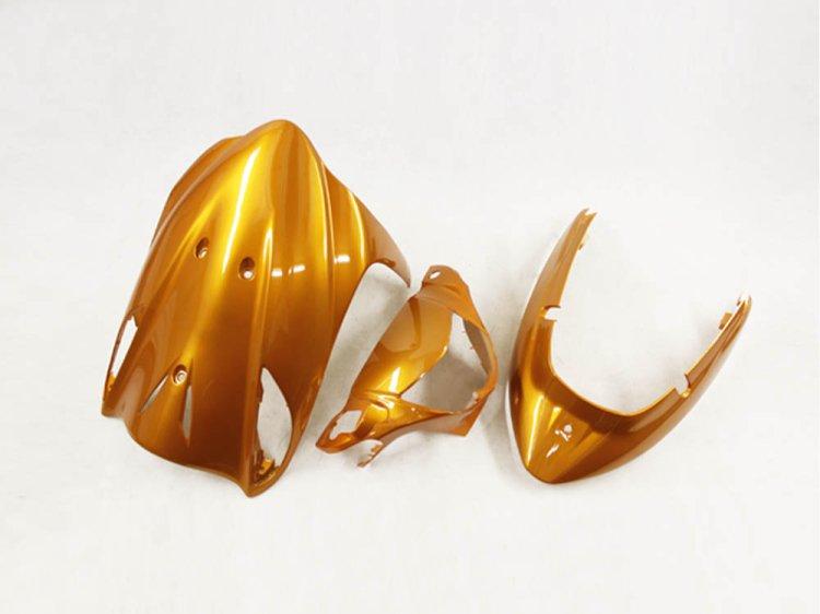 アドレスV125/G(CF46A/4EA) 外装カウル3点Set 橙色オレンジ